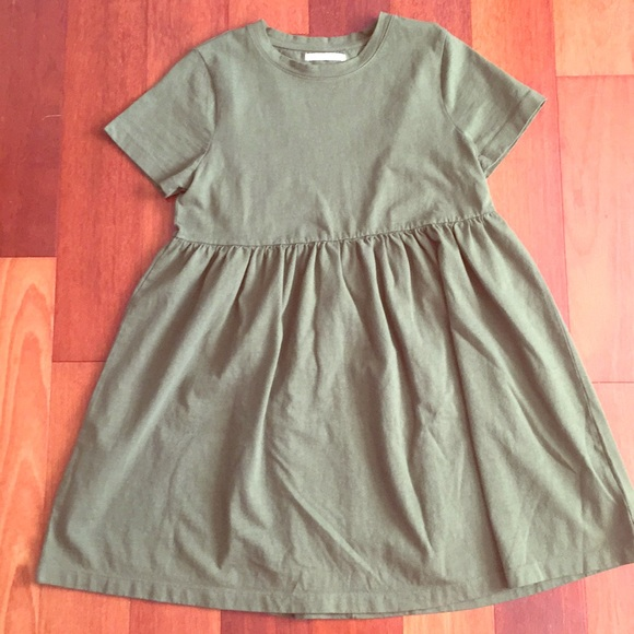 be978343f61f Urban Outfitters Dresses | Uo Alexa Babydoll Tshirt Dress In Green ...